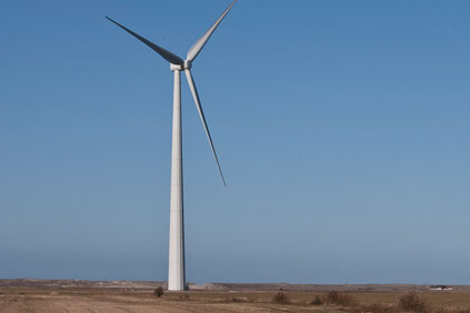 Siemens has used a 2.3MW turbine for the shell tower prototype