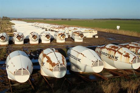 One careful owner… Second-hand nacelles from Denmark ready for export