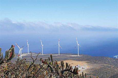 Precedent… Pattern Energy made a deal with a copper mine for its 115MW El Arrayan wind farm
