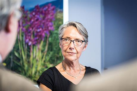 'Let's be honest. Wind will only really take off if everyone is behind it,' Elisabeth Borne, minister for ecological transition, told the conference (pic: M Bouquet/Terra)