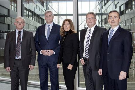 Famous five… Vestas current executive management team