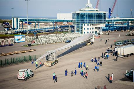 The 81-metre SeaAngel blade