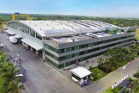State of the art… Gamesa's factory in Mamandur produces nacelles for the G114 2MW turbine using total-quality-management principles
