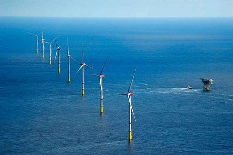 Experienced… Dong Energy developed the Gode Wind 1 and 2 offshore wind farms in the German North Sea, with a joint capacity of 582MW