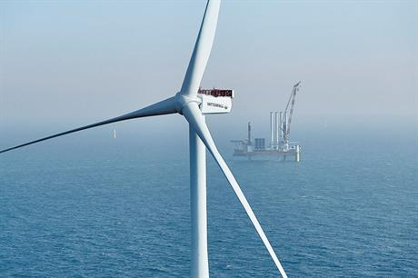 The recently commissioned Horns Rev 3 uses 8.3MW MHI Vestas turbines (pic: Vattenfall/Rasmus Kortegaard)