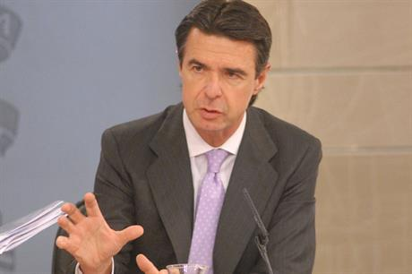 Industry minister José Manuel Soria describes the reforms as necessary