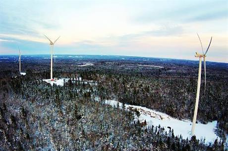 COMFIT project Martock Ridge (pic: Scotian WindFields Inc)
