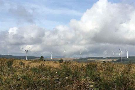 New capacity… Vattenfall commissioned the 288MW Pen y Cymoedd wind farm in Wales last year (pic: WPM)