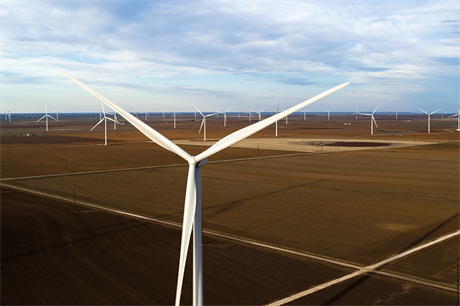Ørsted's Sage Draw wind farm in Texas came online this year