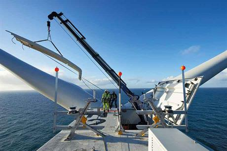 Boost… Order for Senvion's 6.2MW offshore turbine in Q2
