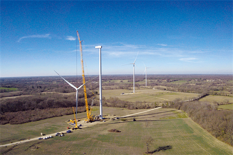 Although installations dropped during lockdown, France installed roughly the same amount in the first eight months of 2020 as last year (pic: Senvion)