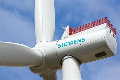 Siemens SWT-7.0-154… Generates around 10% more energy than 6MW machine at windiest sites
