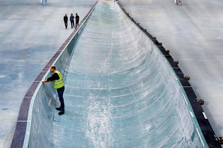 Long and light… At 75 metres long, the Siemens B75 is the longest one-piece fibreglass blade, weighs only 25 tons and has no seams