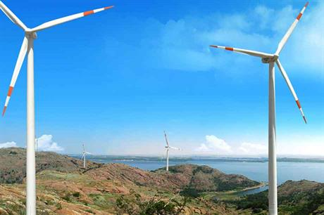 Switching from feed-in tariffs to auctions has pushed prices down in India (pic: Suzlon)