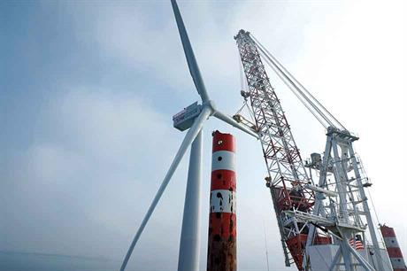 Emerging offshore… Taiwan's targets of 3GW of offshore wind and 1.2GW onshore by 2025 will be hard to meet (pic: Swancor)