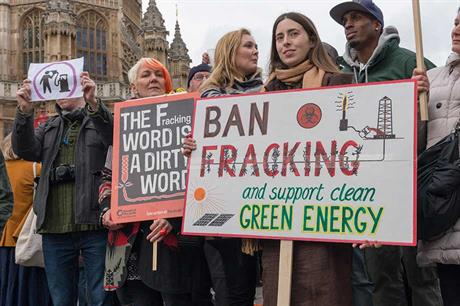 The UK has shown a lack of enthusiasm for shale-gas extraction
