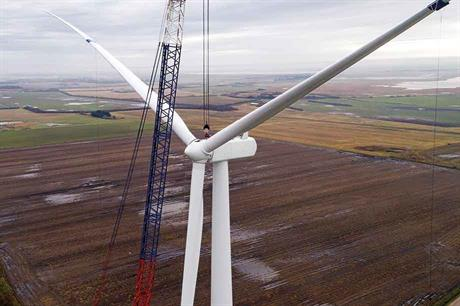 Prototype… Vestas V116-2.1MW at the Technical University of Denmark's test site in Høvsøre