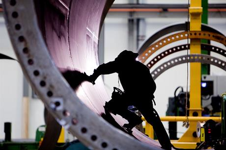 Demand surge… The industry is both eager and optimistic (pic: Vestas)
