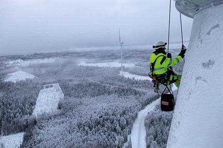 picture courtesy of Bahco and Rope Access Sverige AB; www.ropeaccess.com