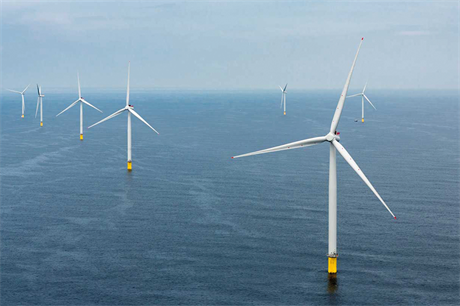 Public support for offshore wind runs as high as 95% in the UK and 75% in Germany, data shows (pic: Ørsted)