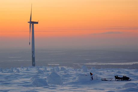 Cold climate sites are a major growth market thanks to strong wind