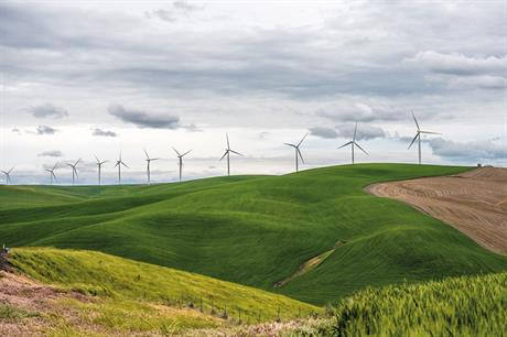 Growth… Wind-power capacity will reach 2,400GW by 2050, according to the International Energy Agency (pic: Joshua Bauer/NREL)