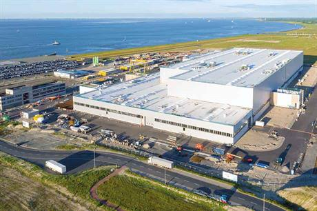 Prime location… SGRE built its Cuxhaven plant on the North Sea coast