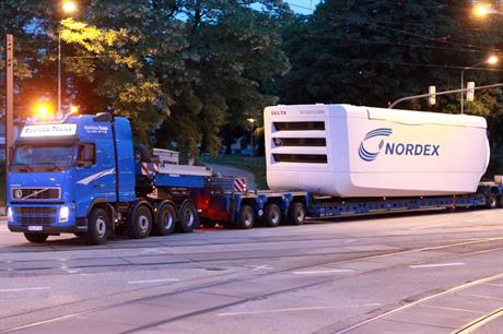 Strong order book…Nordex's EMEA sales reached EUR 1 billion for the first nine months of 2014
