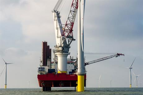December strike price… Offshore wind investment is likely to suffer from UK government's decision (pic:London Array)