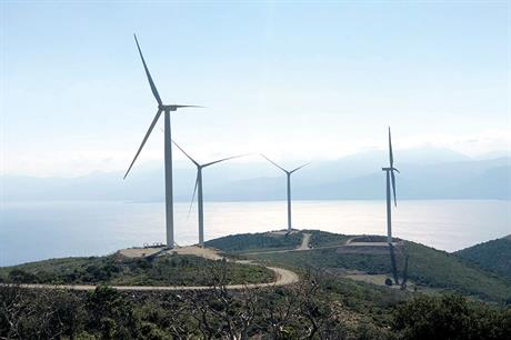 The 38.4MW Fokida wind farm in central Greece, commissioned in spring 2019, was GE's first project in the country