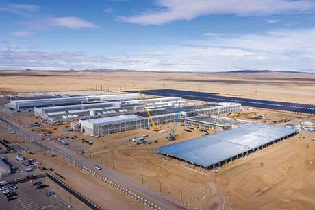 Power hungry… Some argue the surge in electricity use from Facebook's $1-billion Los Lunas data centre would have been enough to pay for the BB2 line (pic: Facebook)