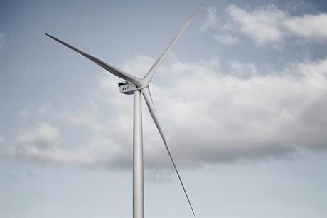 Vestas V164 8MW turbine