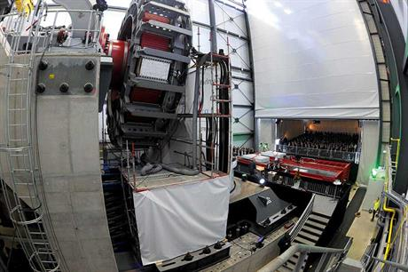 Scale… The Dynalab test rig