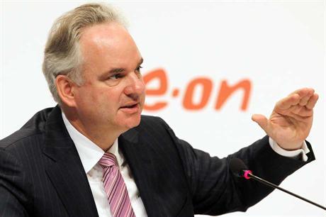 E.on CEO Johannes Teyssen