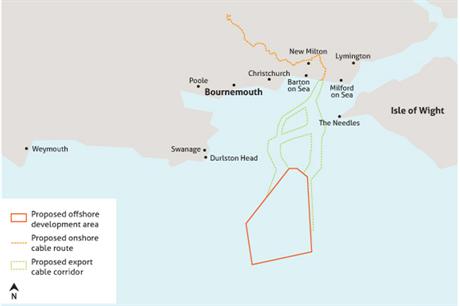 MP Christopher Chope's Christchurch constituency lies near Navitus Bay