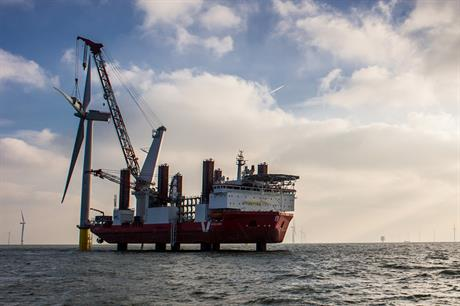 The 630MW London Array 1 is the world's biggest operational offshore wind farm