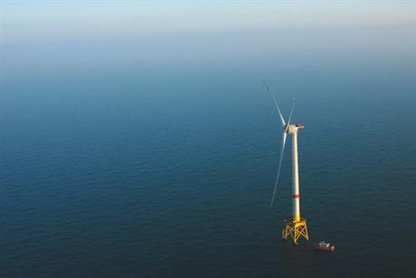 Alstom's 6MW Haliade turbine