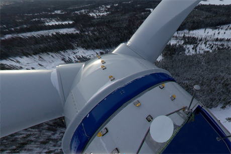 Mervento's 3.6-118 wind turbine at 130 meters