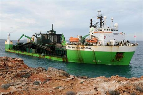 The work will be carried out from the Tideway Rollingstone vessel