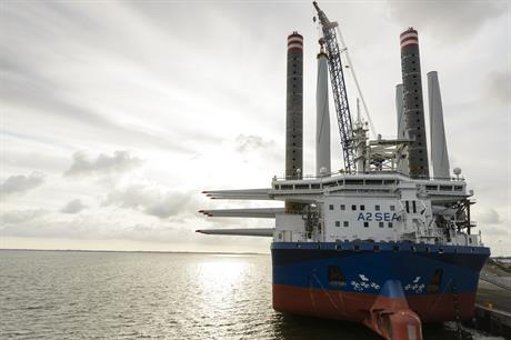 A2Sea's Sea Challenger will be used at Dong's Burbo Bank Extension
