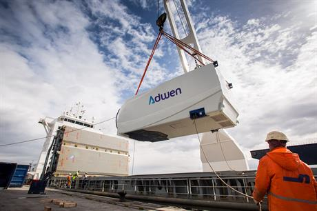 Adwen's 5MW turbine will be installed at Iberdrola's Wikinger offshore project
