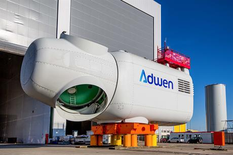 Adwen's 8MW turbine is slated to be used at both projects
