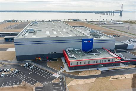Alstom's newest Haliade factory in Saint Nazaire, France, opened in December 2014