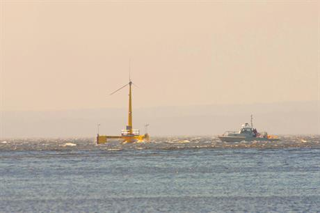 Iberdrola has invested in Maine's Aqua Ventus floating project