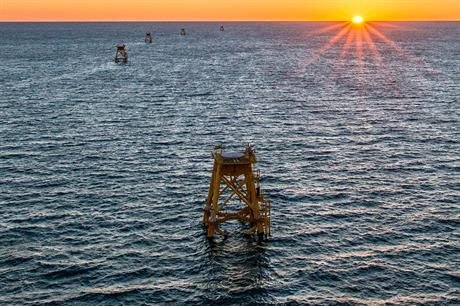 Deepwater Wind is currently installing the 30MW Block Island project off Rhode Island, the first US offshore site