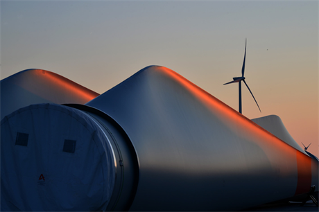 Half the turbines at Trianel's Borkum West 2 are grid connected