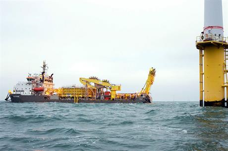 Boskalis' subsea cables business was known as VBMS prior to a rebranding earlier this year