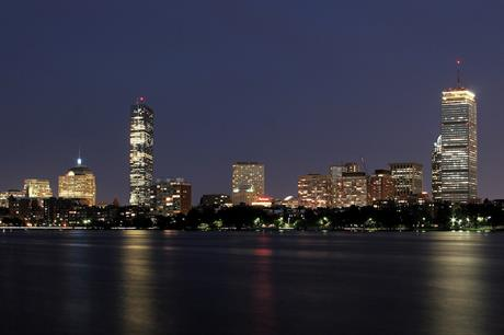 Offshore Wind Consultants' US office is in Boston, Massachusetts (above, by night) (pic credit: Good Free Photos)