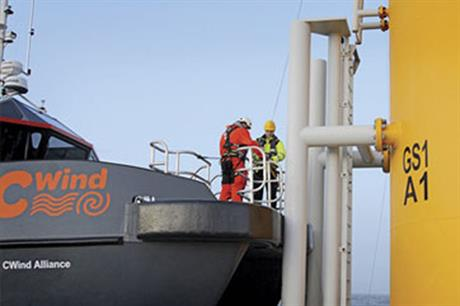 CWind has provided technicians for a number of UK offshore projects