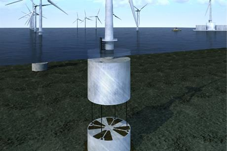 The tension-leg floating platform concept is lined up to be installed at a site in Scotland